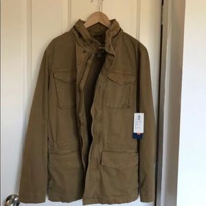 New Old Navy med tall military style jacket w/hood